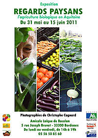 Exposition Regards Paysans - Affiche